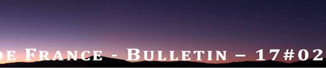 Vous trouverez le numéro 17#02 du « Bulletin de l'Astro Club de France » sous la ressource suivante : Bonne lecture Version corrigée pour les données cométaires.
