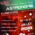 Dimanche 08 juillet : (14h à 16h) : (tout public, salle communale de Clamensane) «Des maquettes pour comprendre le ciel » Pierre Bonhomme Club Nuits Magiques Lundi 09 juillet: (14h […]